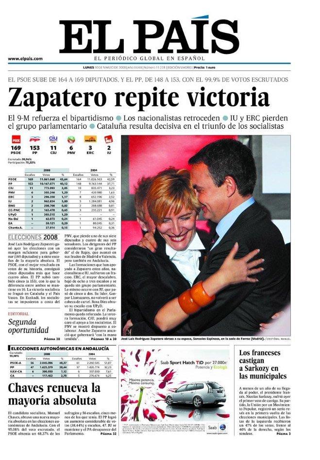 2008 Chaves Elecciones Andalucía
